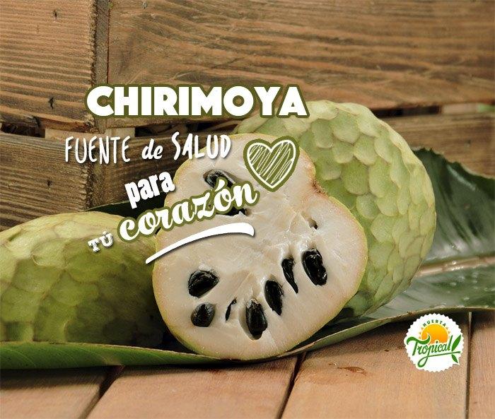 Chirimoya, fuente de salud para el corazón y propiedades cardiovasculares