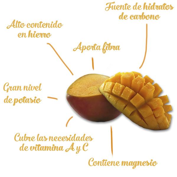 Beneficios para la salud del consumo de mango. Huerta Tropical