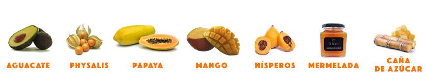 Comprar surtido de frutas tropicales