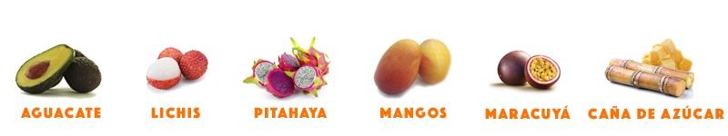frutas en surtido 2
