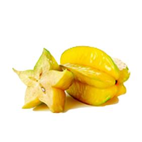 carambola o fruta estrella