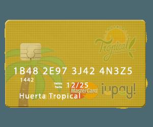 Comprar Fruta Tropical con Tarjeta de Débito o Crédito