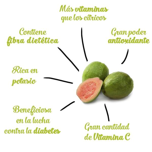 beneficios y propiedades salud guayaba