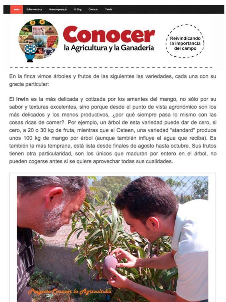 Conocer la Agricultura