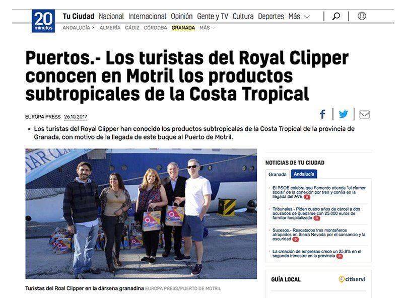 Periódico Royal Clipper