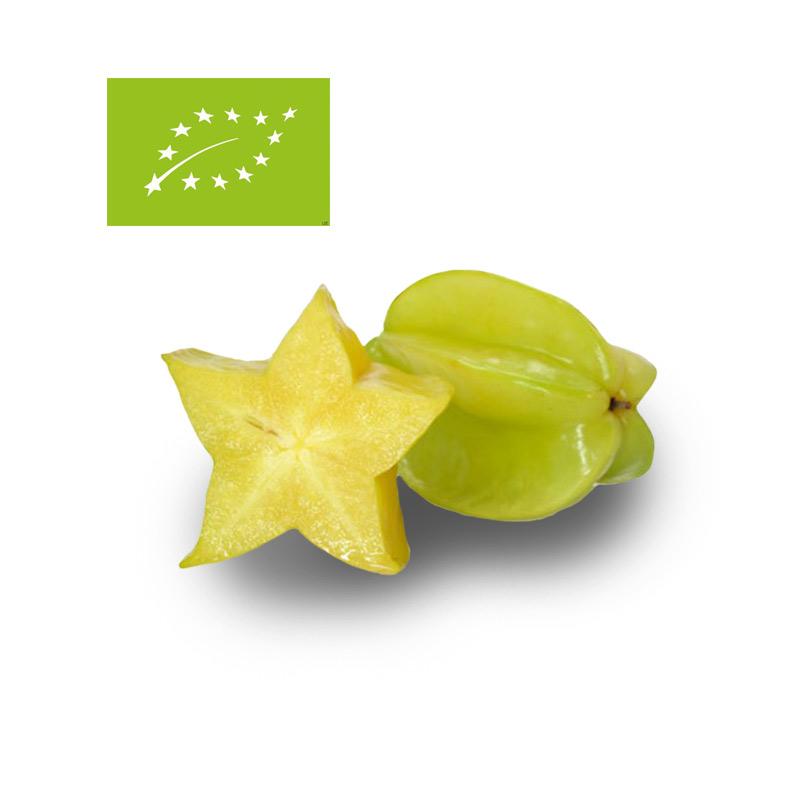 comprar carambola bio o fruta estrella ecológica